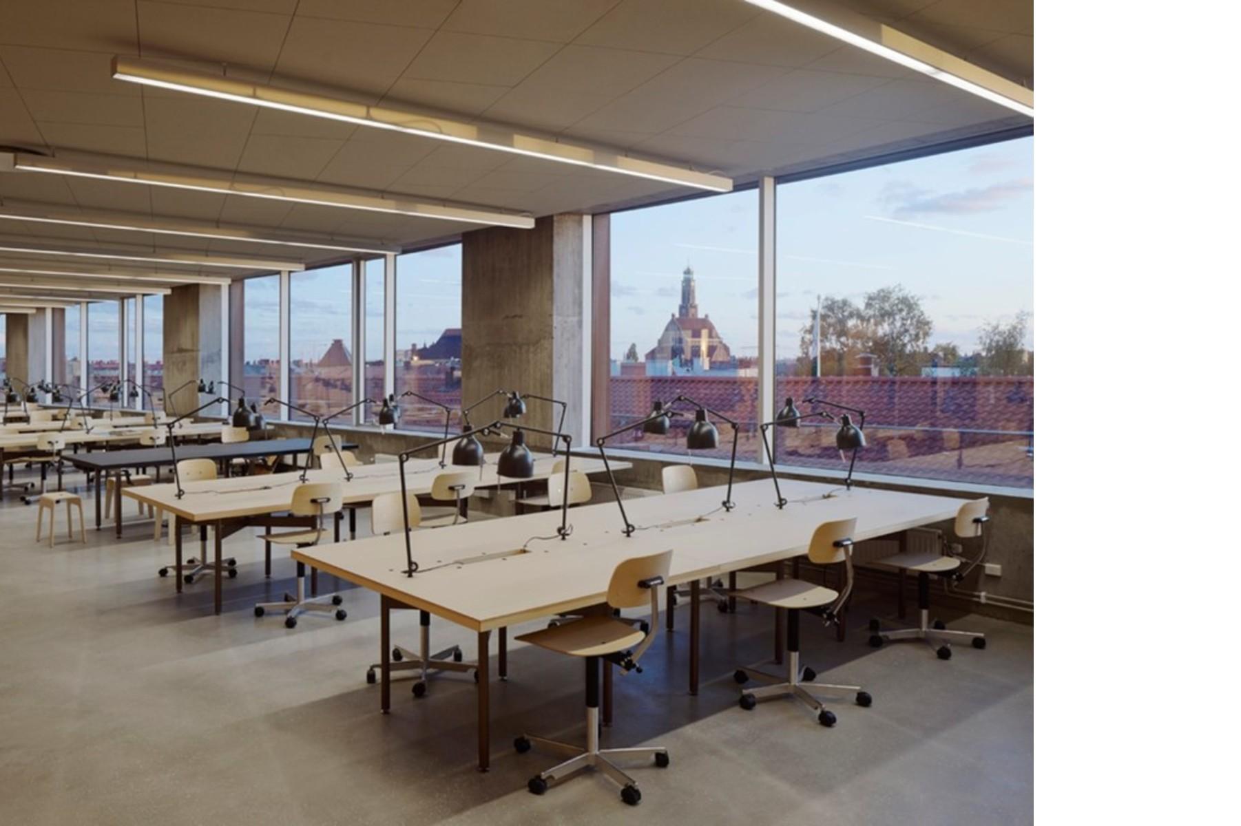 Tham Videgard Design The New Stockholm School Of Architecture Floornature,Two Car Garage Interior Design Ideas