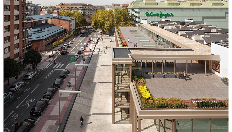 Bárcena y Zufiaur redevelops Vitoria food market