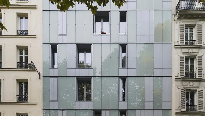 InSpace Architecture Parigi: social housing e centro famiglie