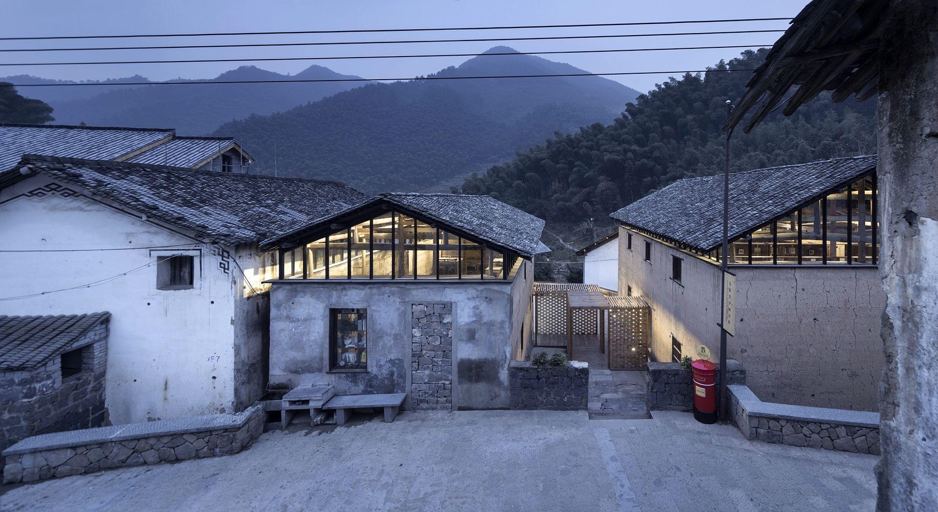 Azl Architects And Librairie Avantgarde Tonglu China