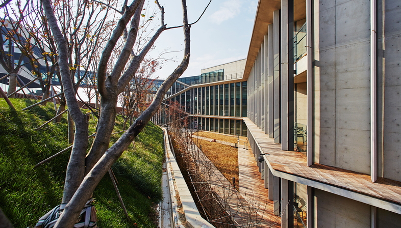 Kengo Kuma progetta l'istituto Naver Connect one in Corea