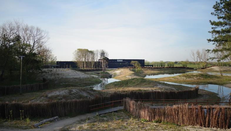 Coussée & Goris: centro visitatori del Parco naturale di Zwin
