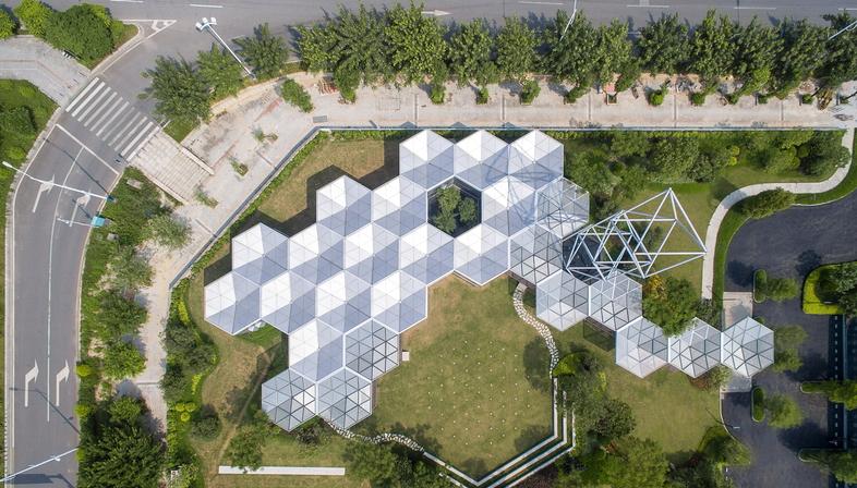 OPEN Architecture: prototipo del sistema HEX-SYS a Guangzhou Cina