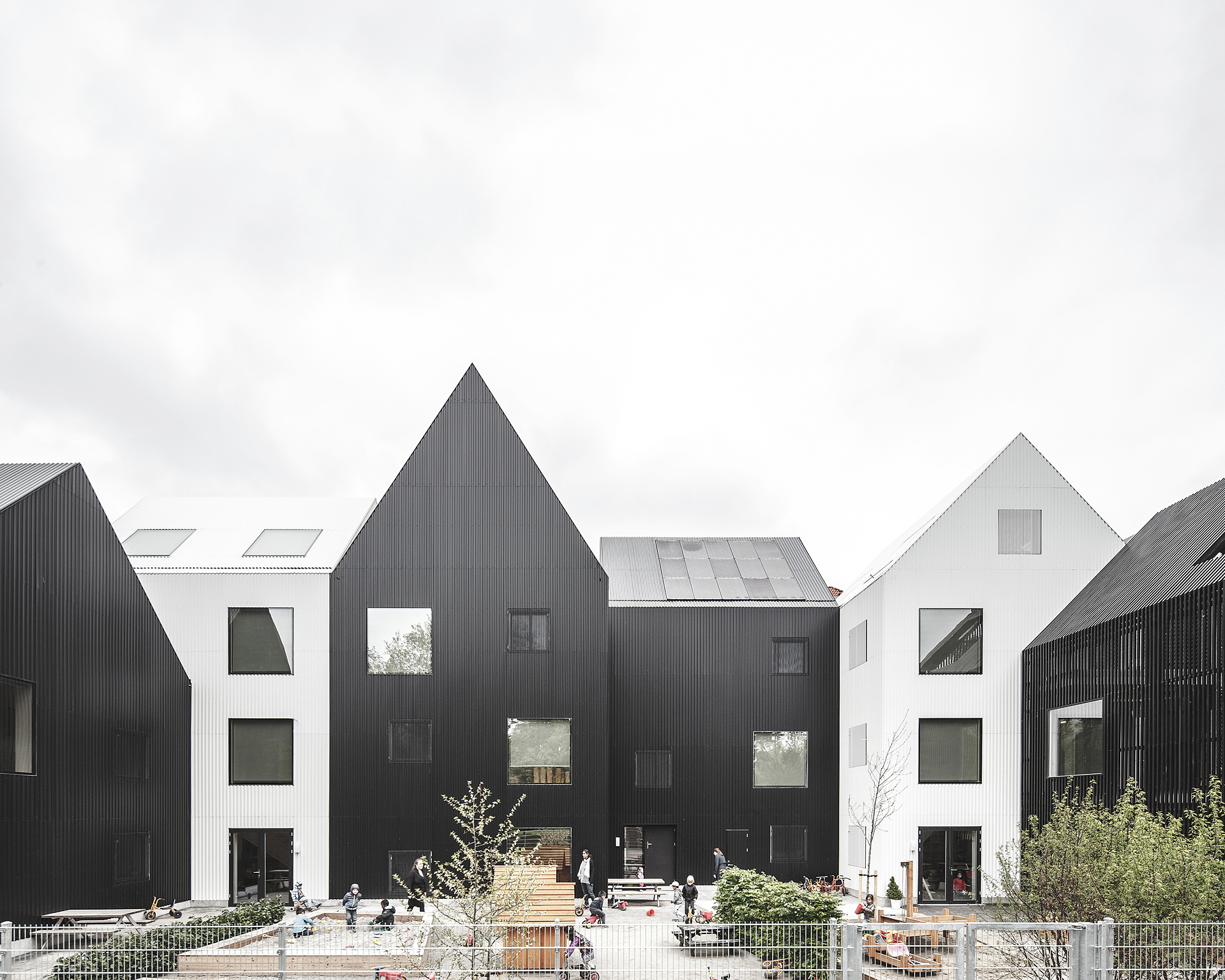 COBE: Frederiksvej Kindergarten, the pre-school designed by children
