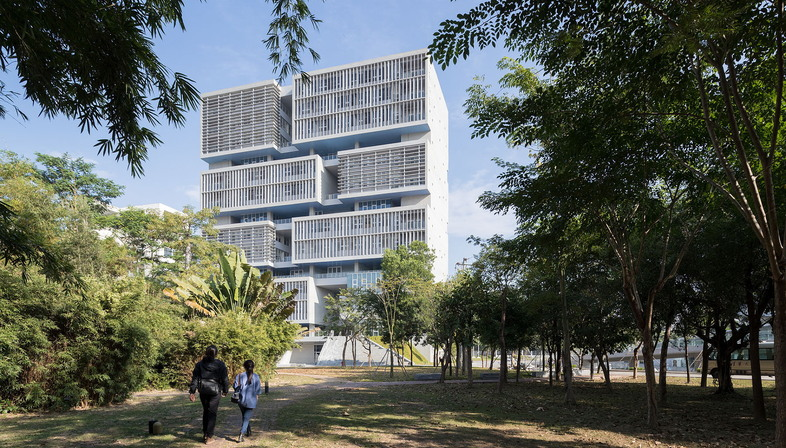Open Architecture: Tsinghua Ocean Center Shenzhen, Cina