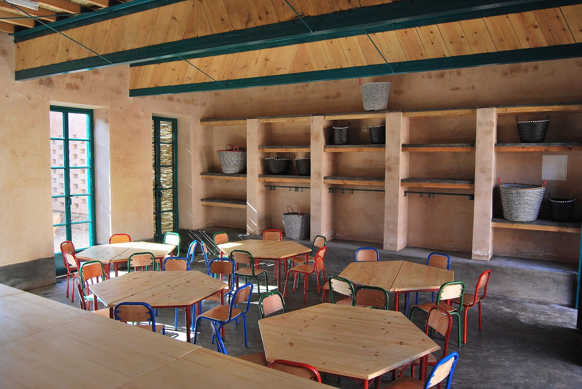 Bc architects nursery school in ouled merzoug morocco