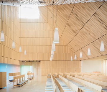 OOPEAA and the Suvela Chapel in Espoo