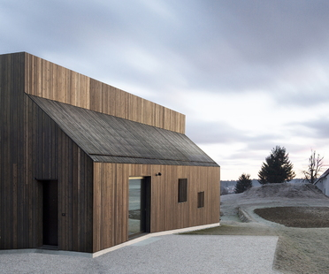 Dekleva Gregoric Architects: House with chimney in Logatec, Slovenia