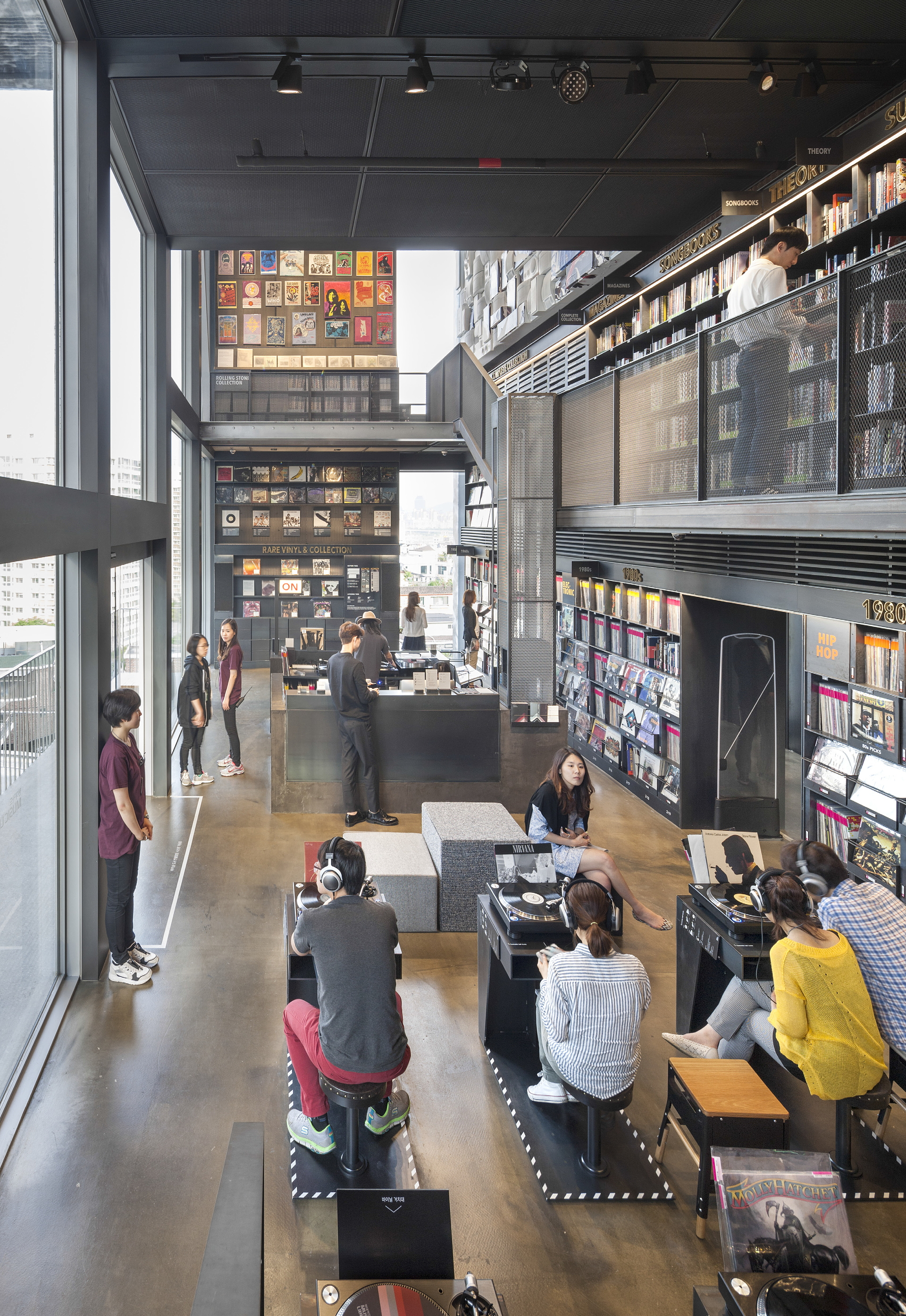 Moongyu Choi Ga A Architects: H Music Library in Seoul