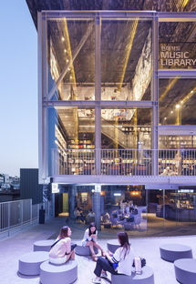 Moongyu Choi + Ga.A Architects: H Music Library in Seoul