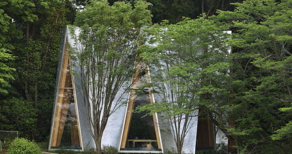 Nakamura & NAP: Sayama Forest Chapel and the gassho structure