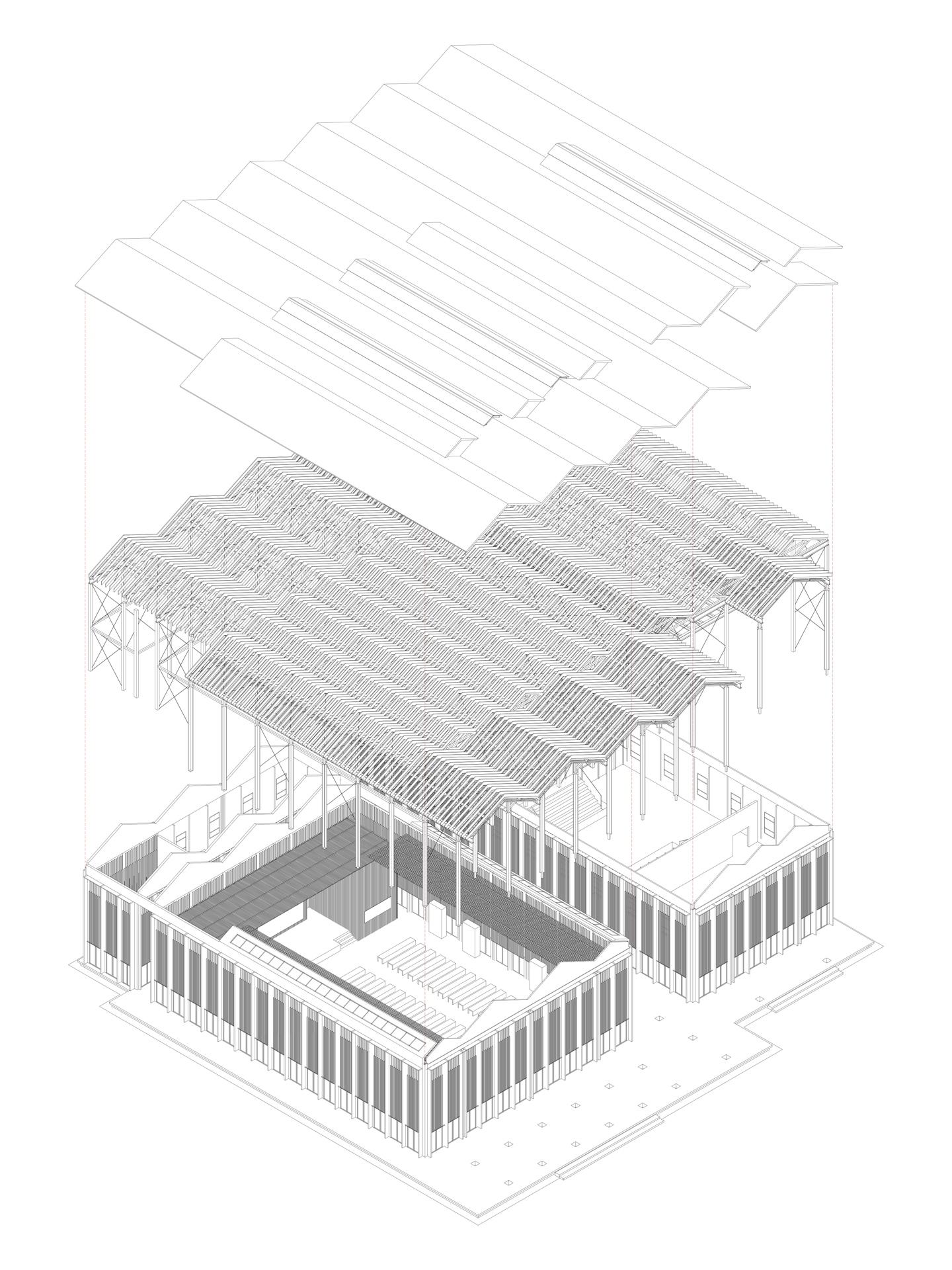 Azl Architects Shitang Village Internet Conference Center China