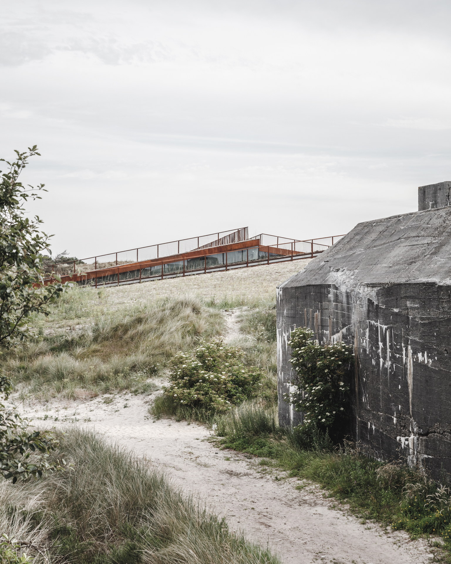BIG-Bjarke Ingels Group: Tirpitz, the museum of the Atlantic Wall
