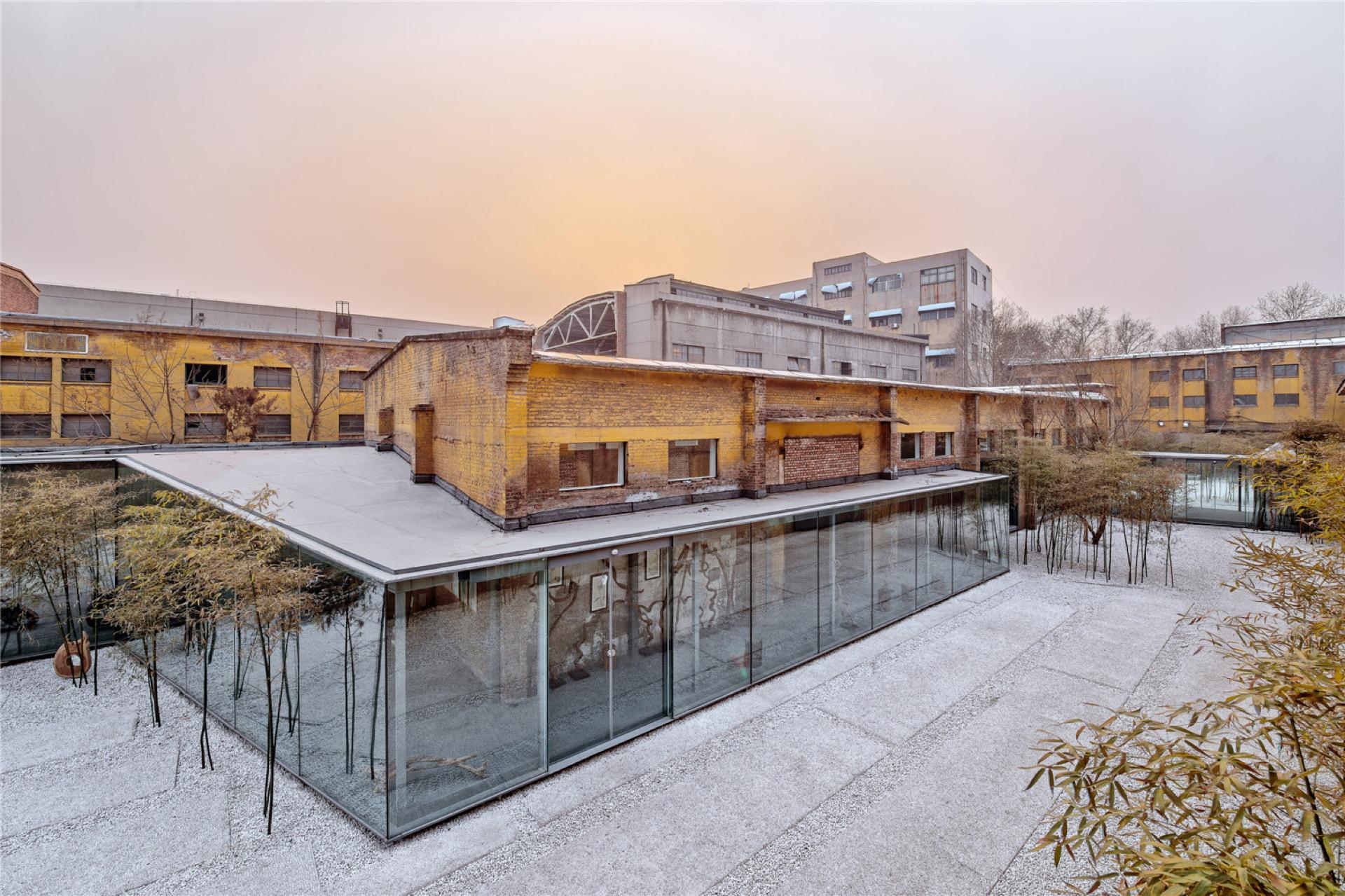 Archstudio: The Great Wall Museum of Fine Art in Zi Bo (China)