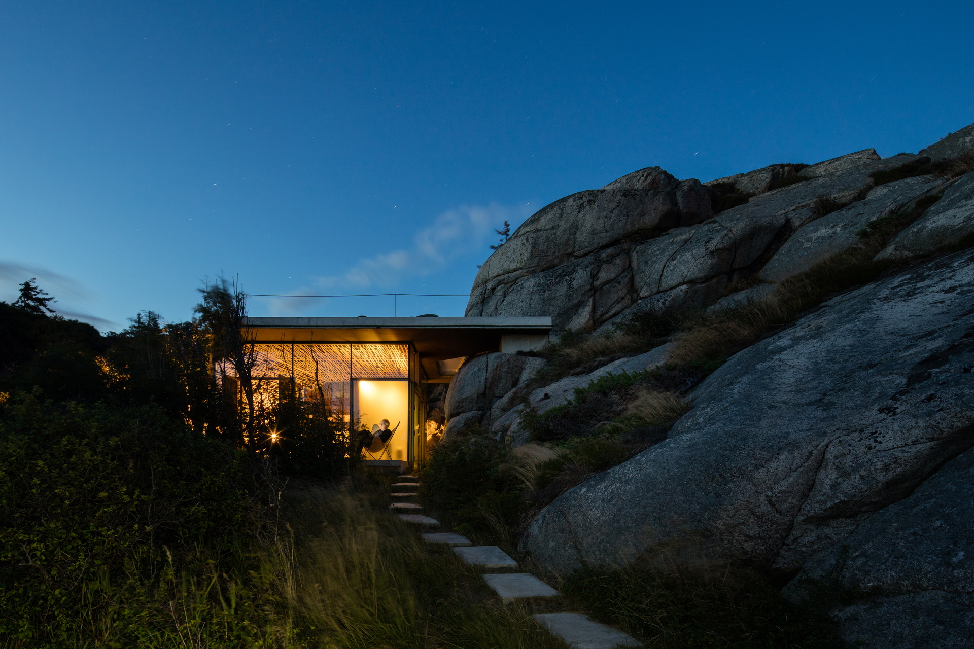 Lund Hagem Architects: Cabin Knapphullet in the Norwegian fjords