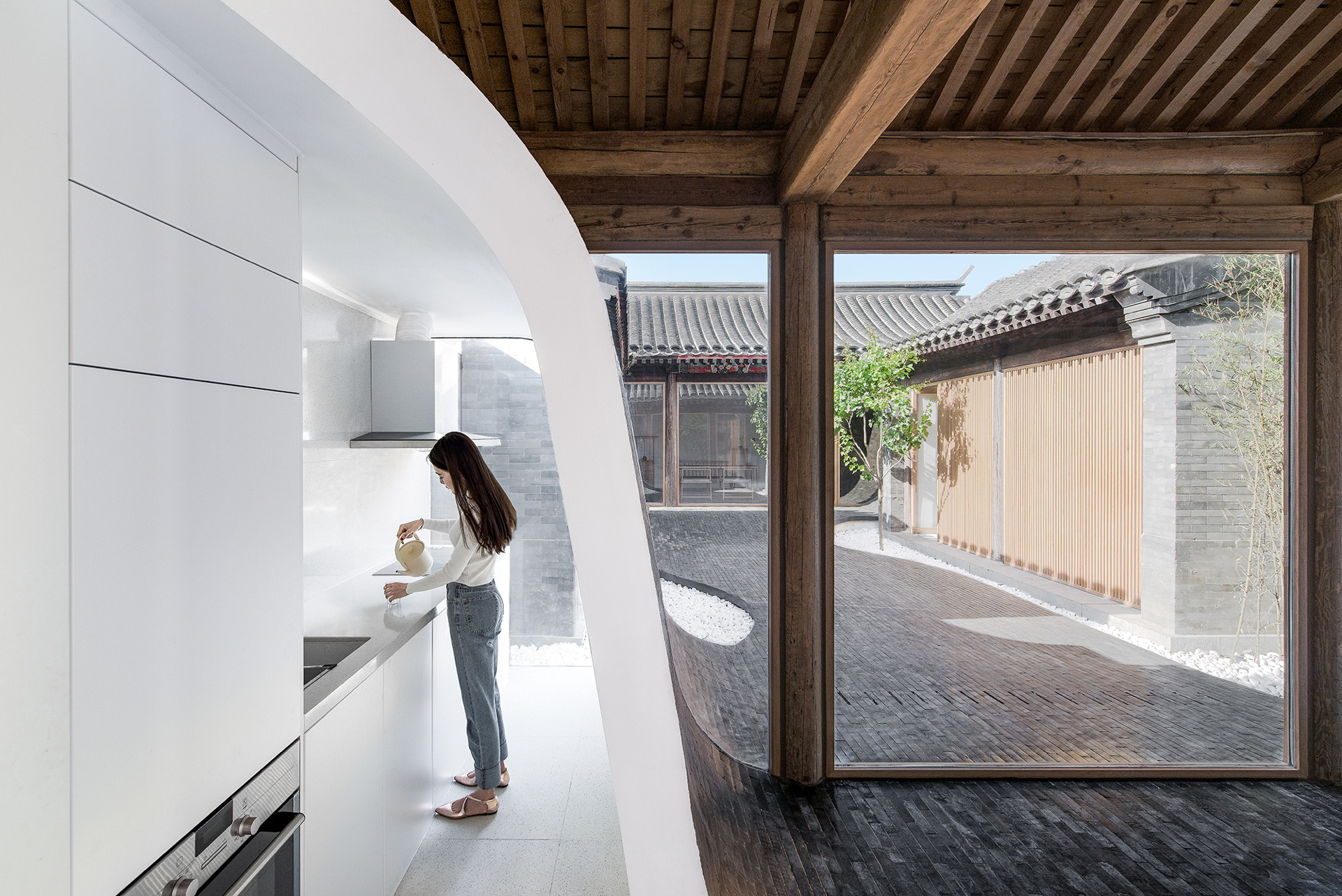 Archstudio: renovation of a siheyuan in Dashilar, Beijing