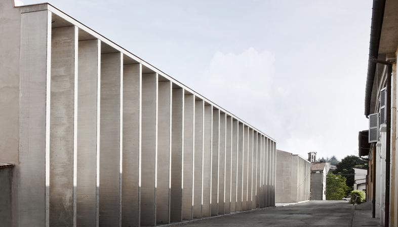 Ellevuelle Architetti: Restoration of the Filandone former silk mill in Modigliana
