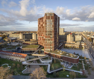 C.F. Møller: Maersk Tower, Panum Building in Copenhagen