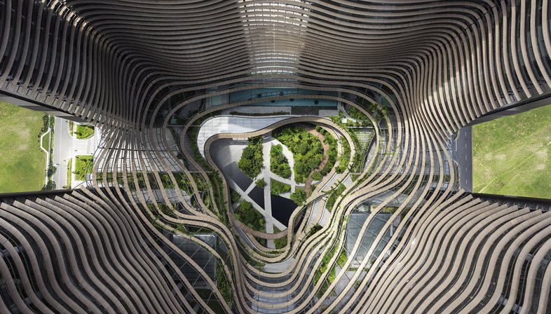Ingenhoven architects: Marina One in Singapore