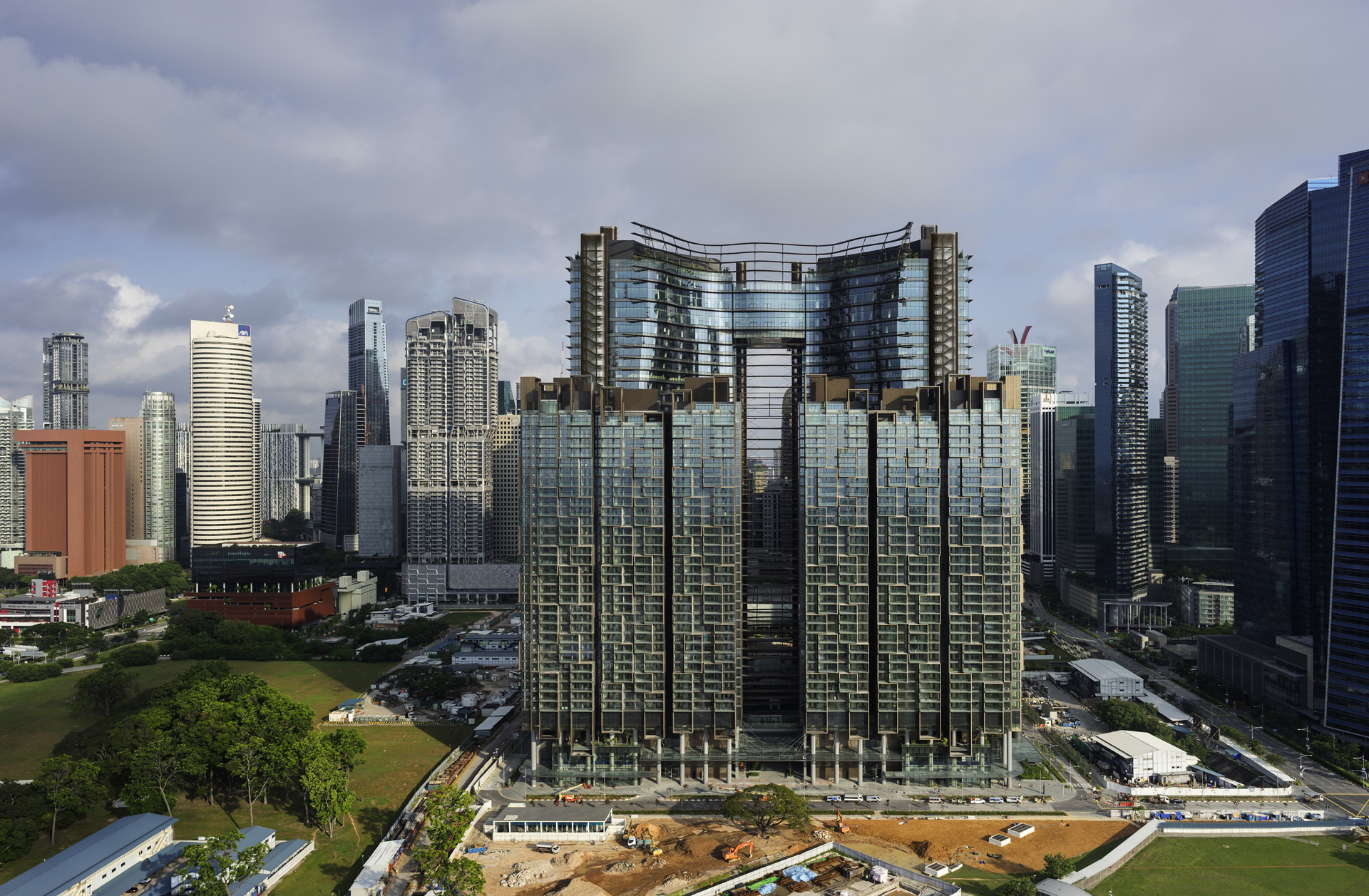 Ingenhoven architects: Marina One in Singapore