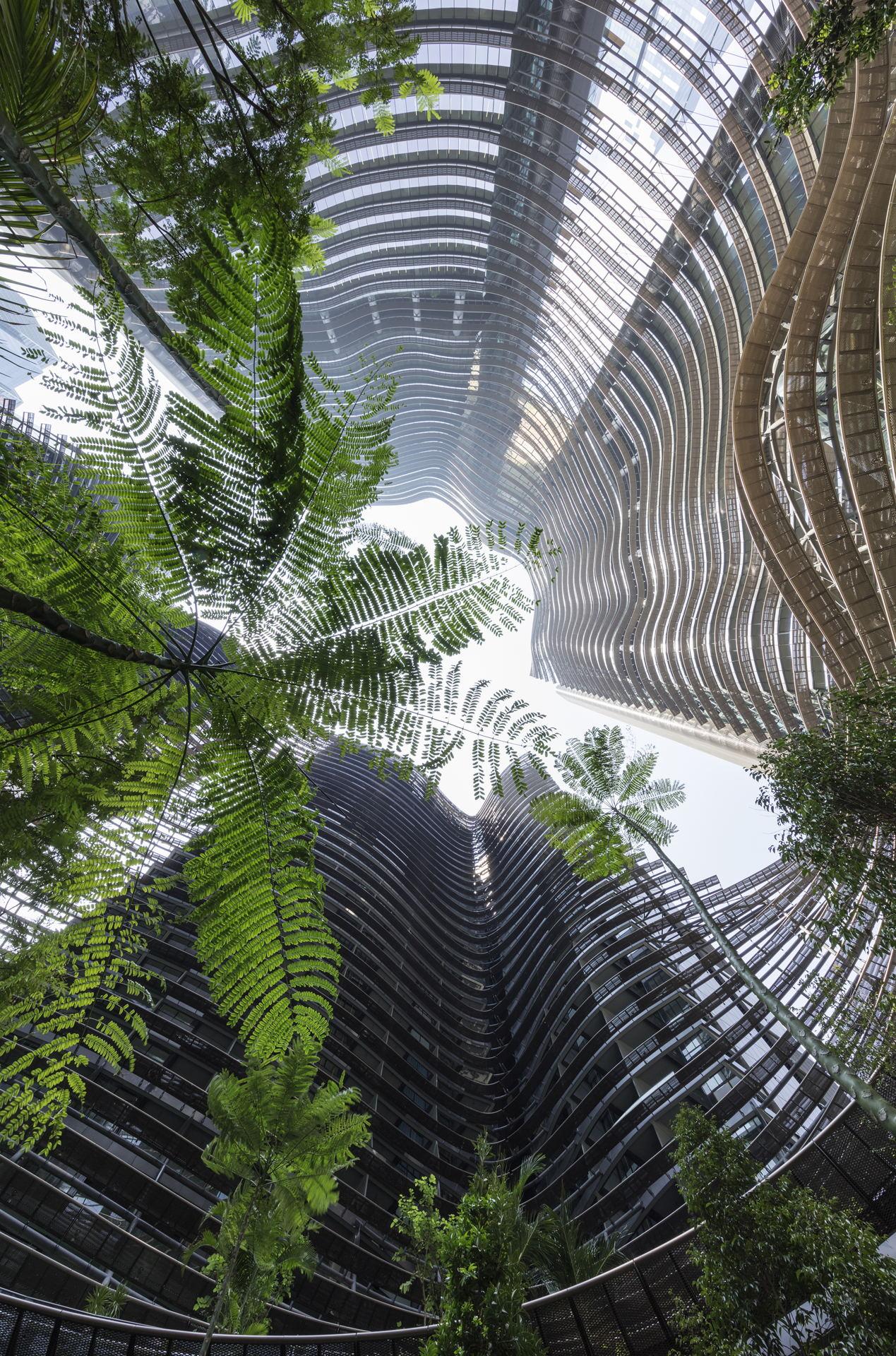 Ingenhoven Architects Marina One Singapore Floornature