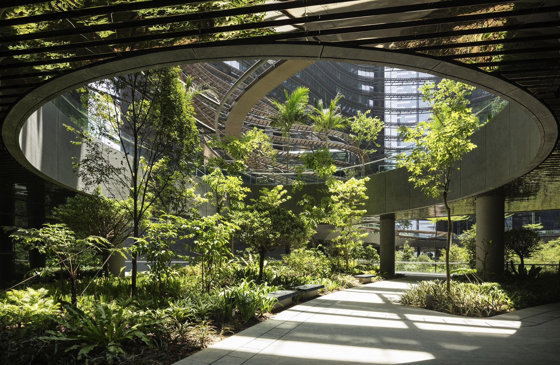 Ingenhoven Architects Marina One In Singapore Floornature