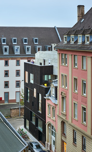 Dominique Coulon: a residential and office building in Strasbourg