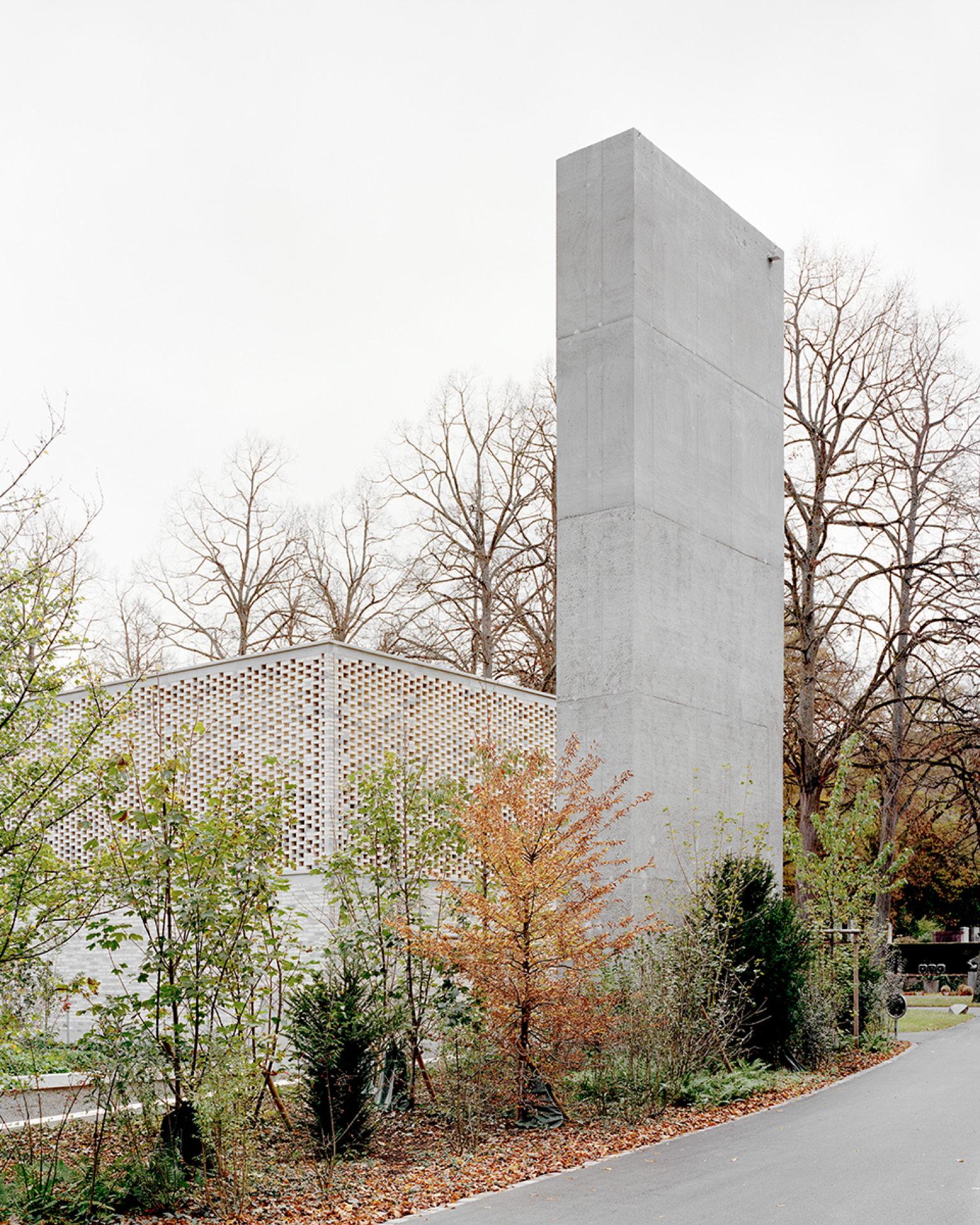 Garrigues Maurer: new crematorium for the Hörnli cemetery, Basel