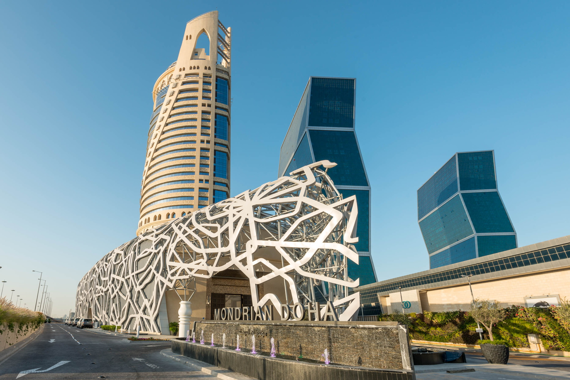 South West Architecture Con Fmg Mondrian Doha In Qatar