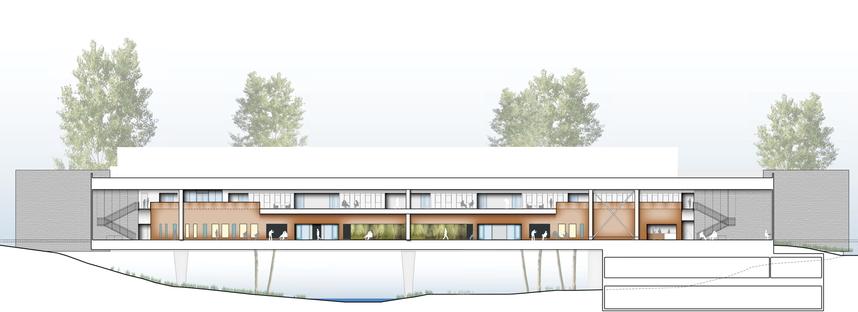 Ennead Architects: Bridge for Laboratory Sciences a Poughkeepsie