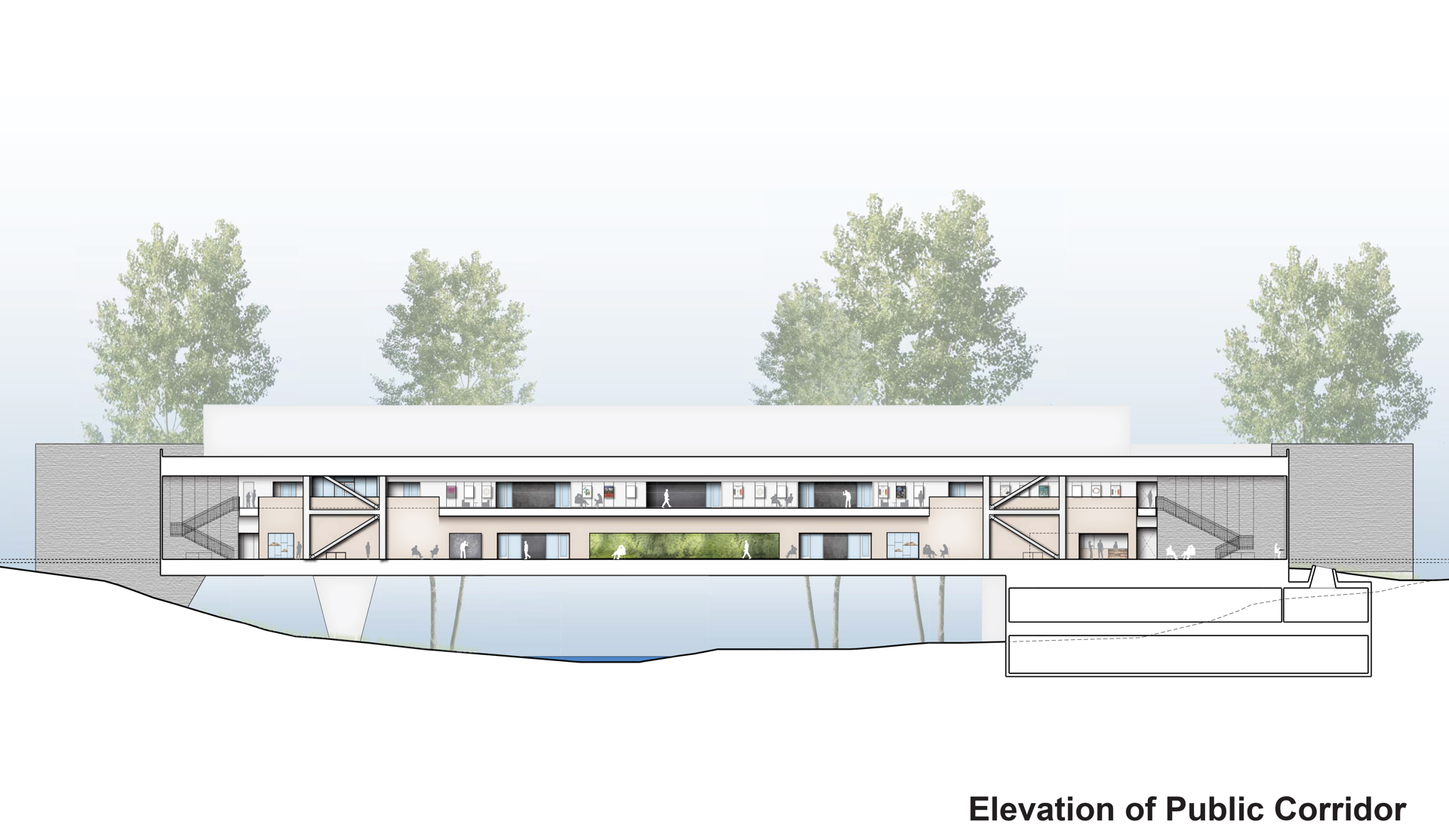 Ennead Architects Bridge For Laboratory Sciences A Poughkeepsie