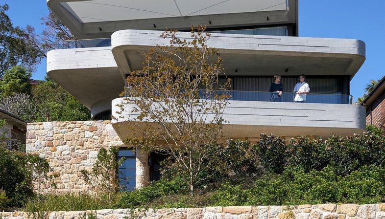 Luigi Rosselli: The Books House on the rocks in Sydney