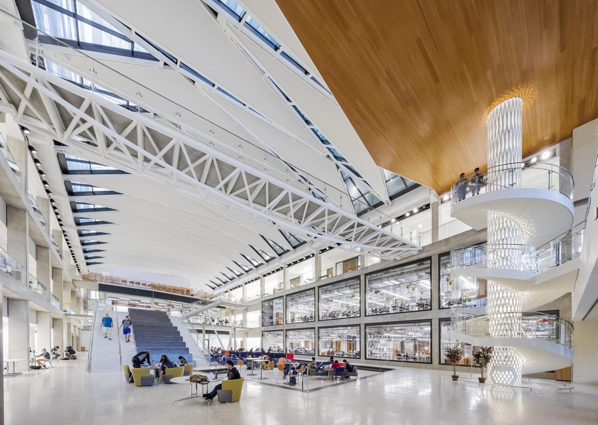 ennead architects jacobs eerc university of texas austin floornature