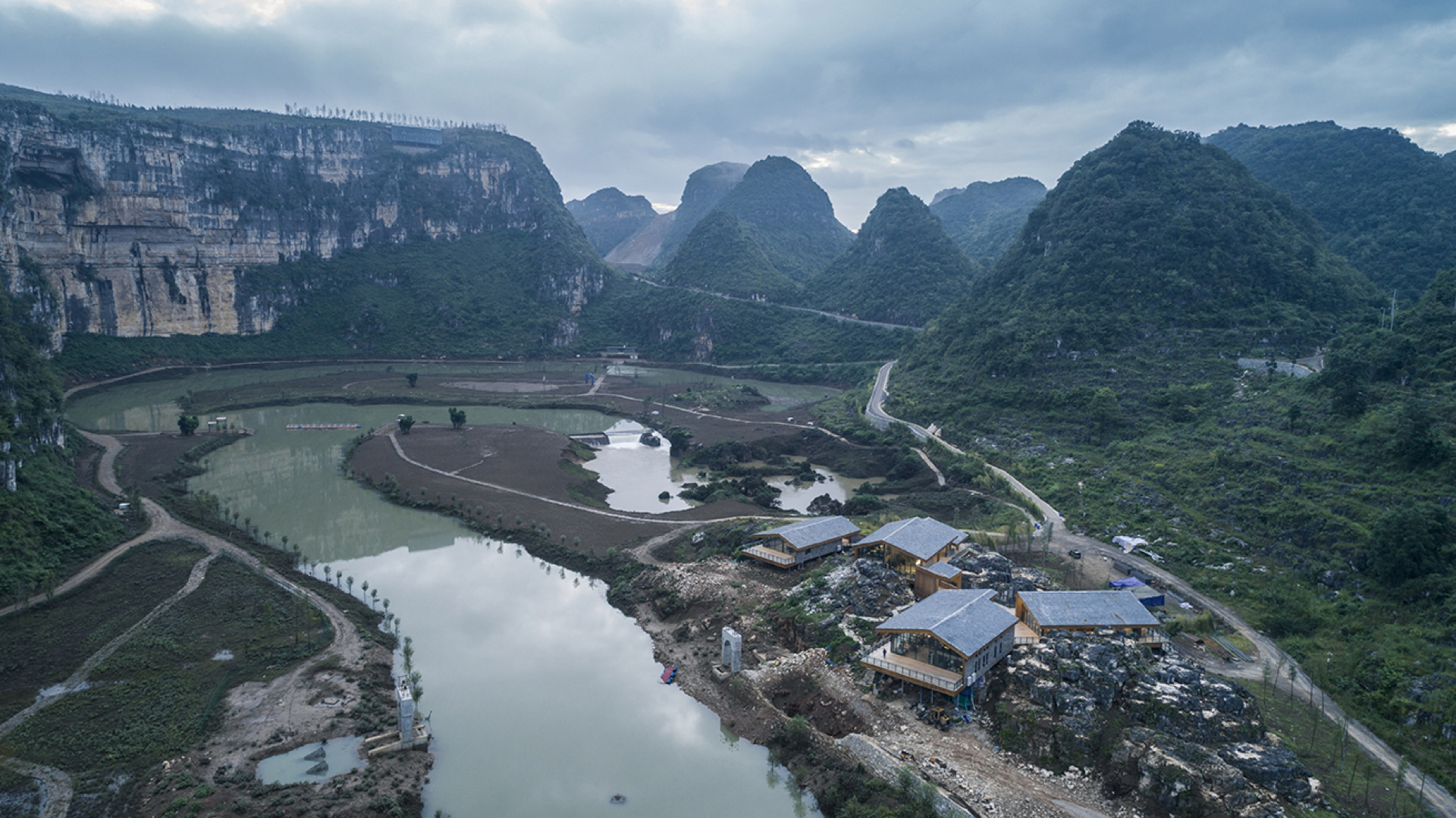 He Wei: Anlong tourist centre