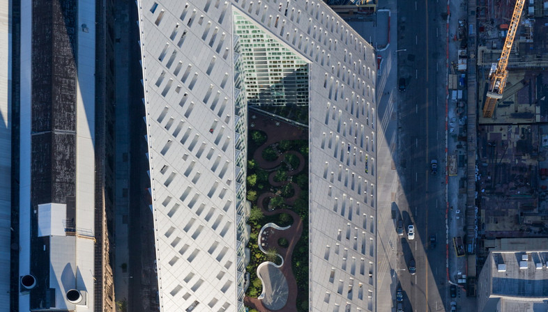 West 57th Street: a new courtscraper by BIG Bjarke Ingels Group