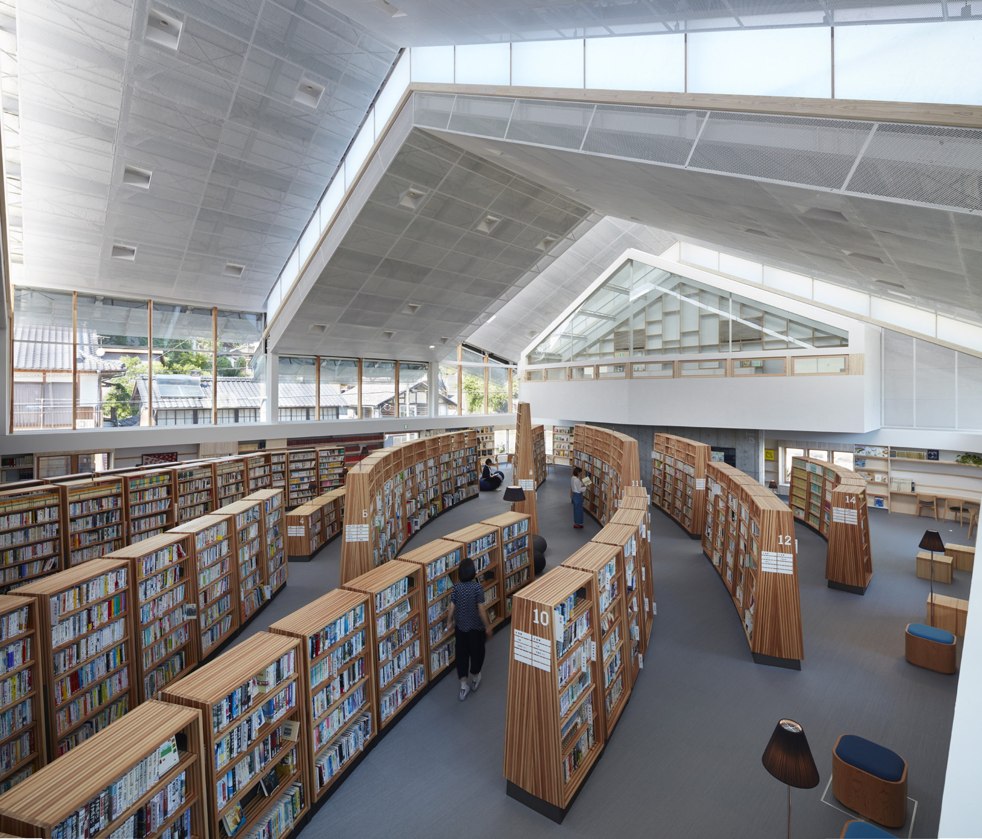 Takao Shiotsuka Atelier Public Library In Taketa Japan