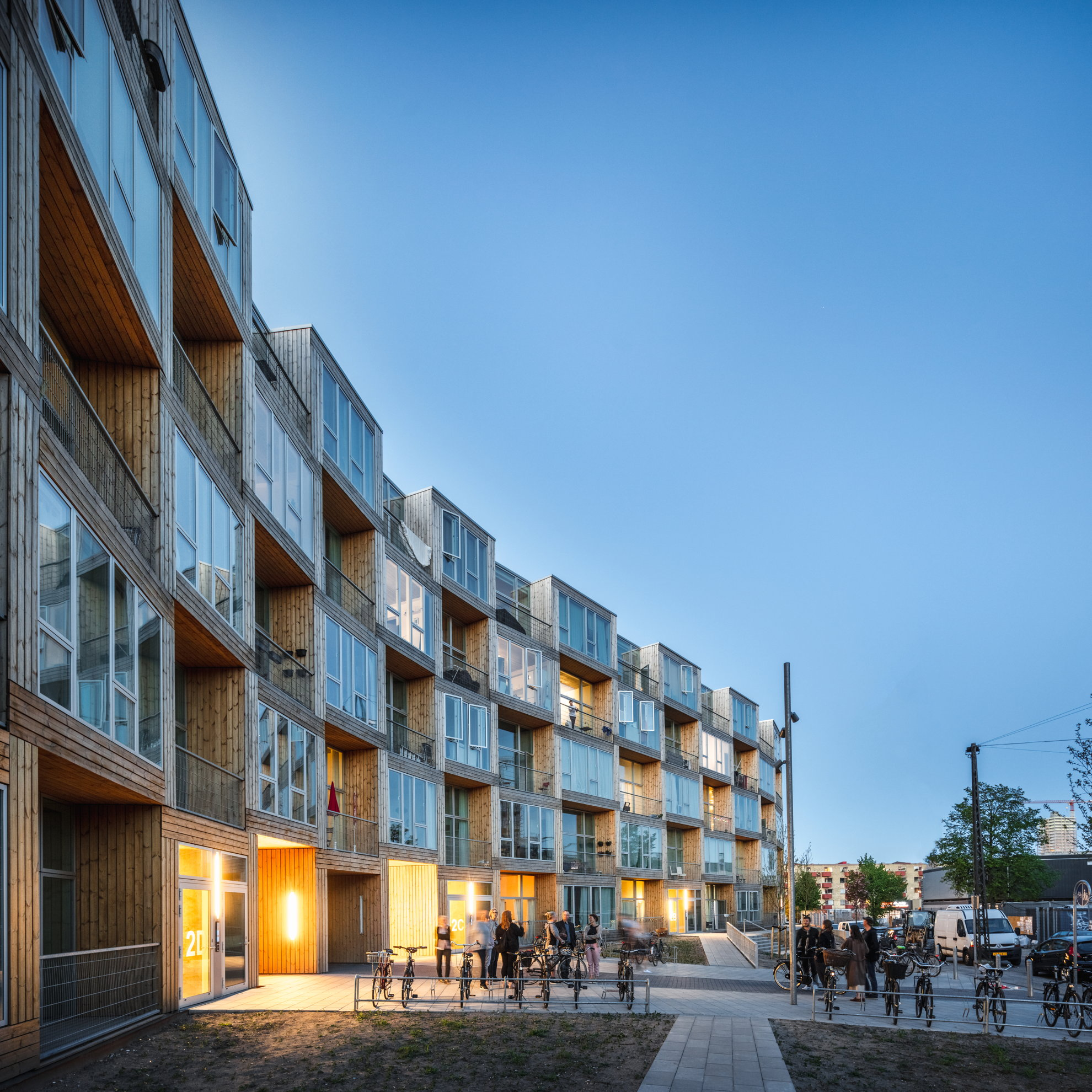 Luxury Low Income Apartments: BIG Bjarke Ingels Group: Homes For All In Copenhagen