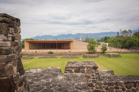 Isaac Broid + PRODUCTORA: Teopanzolco Cultural Centre, Cuernavaca