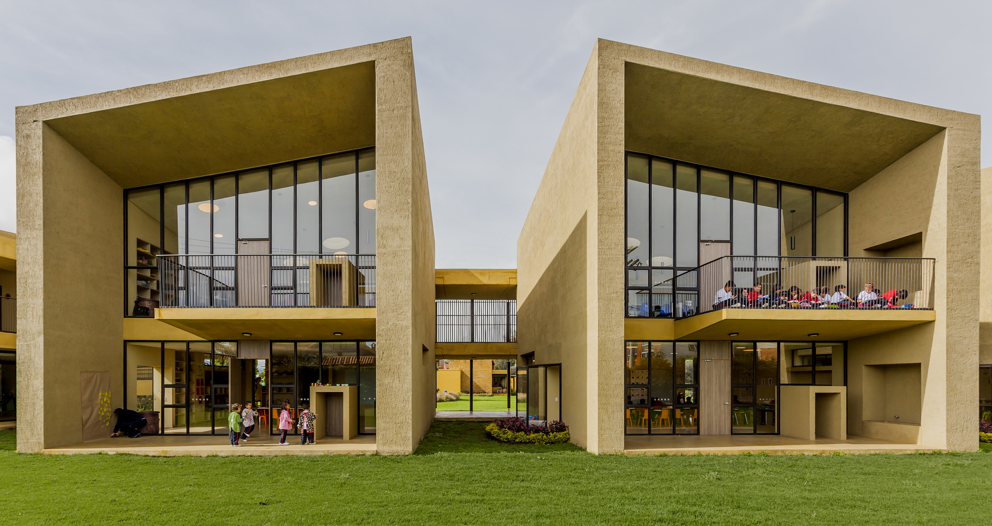 Taller de Arquitectura de Bogota: San Jose nursery school in ...