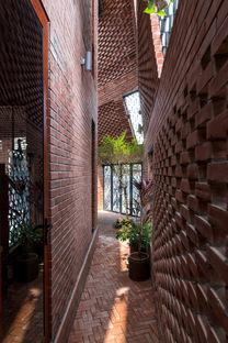 H&P Architects: Brick cave in Hanoi