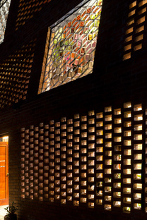 H&P Architects: Brick cave in Hanoi