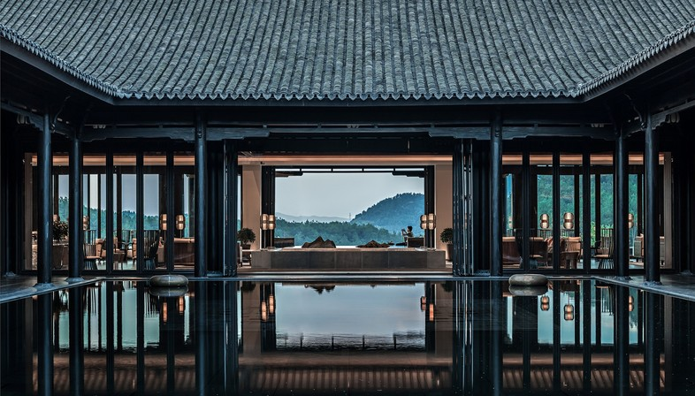CL3 and ZSD design the Banyan Tree in Anji, China