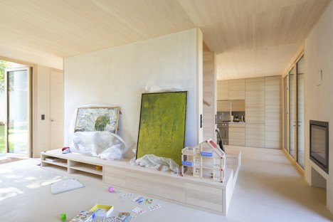 juri troy architects: new home in an Austrian streckhof