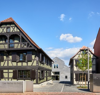 Dominique Coulon & associés: Covered market in Schiltigheim