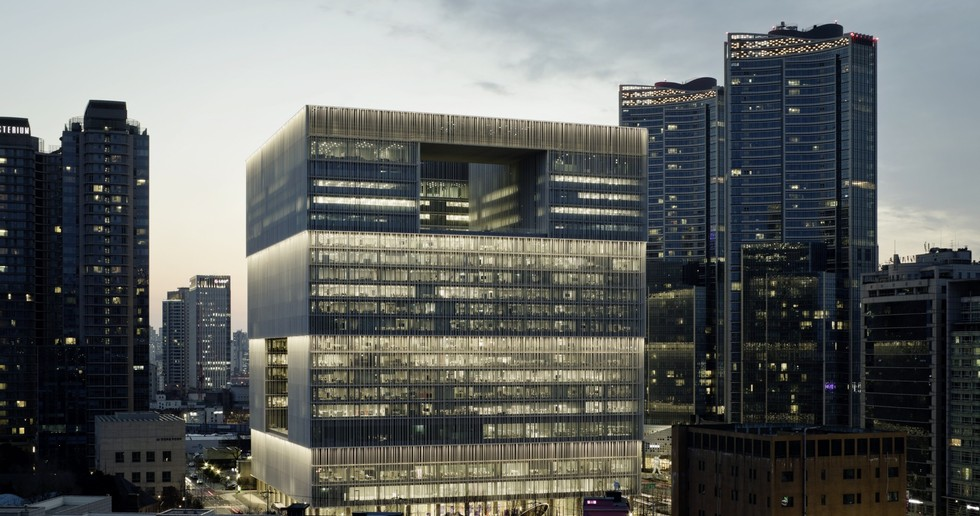 David Chipperfield Architects: new Amorepacific headquarters, Seoul