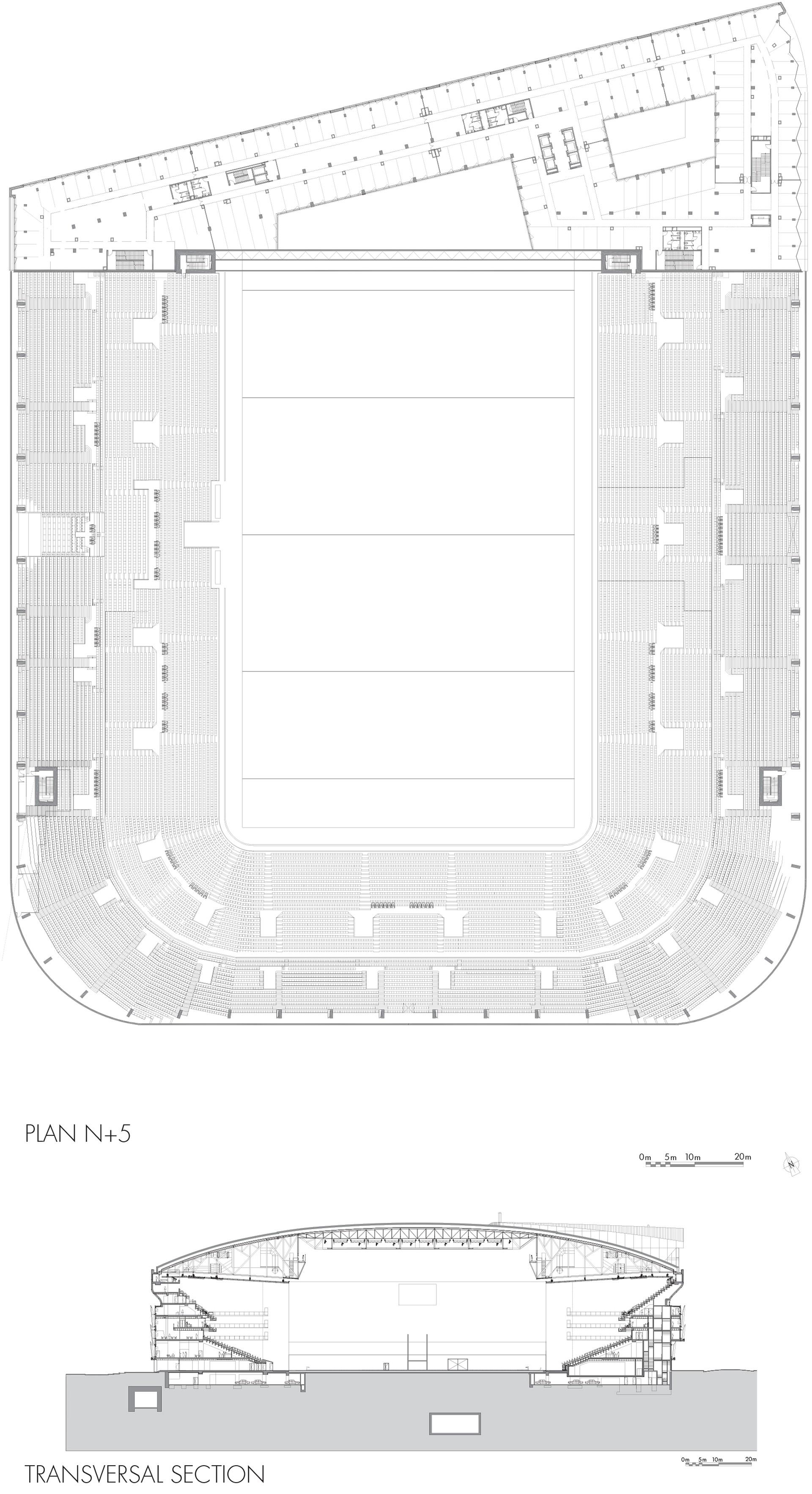 The Paris La Defense Arena By 2portzamparc Floornature