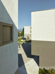 2b architectes: Apartments for the elderly in Sugiez, Switzerland
