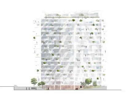 Sou Fujimoto, Nicolas Laisné and Oxo Architects' White Tree has taken root in Montpellier