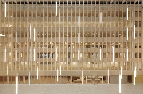 Pulse by BFV Architectes: a timber cathedral in Saint-Denis