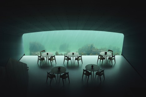 Snøhetta: Under, the underwater restaurant in the fjords of Norway